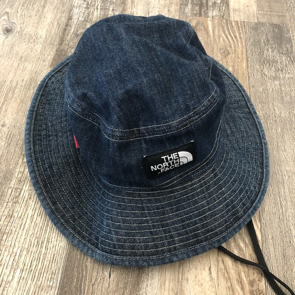 Supreme Northface Denim Bucket Hat. Rarely used. M 5b4a2f2161974547cd07602b f9e1ddfba06